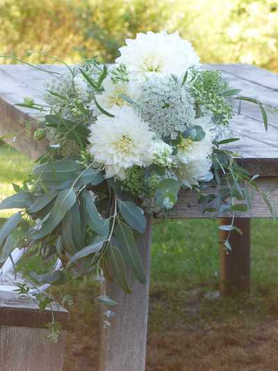Hartwood North Farm Certified Organic Wedding Bouquets